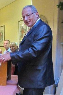 Klaus Lehl, Vorsitzender des Ortsvereins West