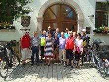 ver.di Seniorinnen und Senioren mit dem Rad nach Waidhaus