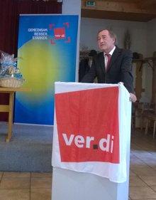 Jubilarehrung 2016 des Ortsverein Schwandorf