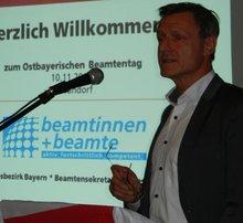 Alfried Ströl, Landesbeamtensekretär und Abteilungsleiter Landesrechtsschutz, ver.di Bayern