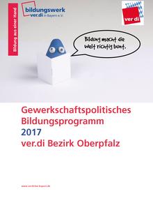Bildungsprogramm 2017 des Bezirk Oberpfalz