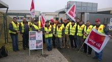 PPKV-Warnstreik: Mondi in Eschenbach