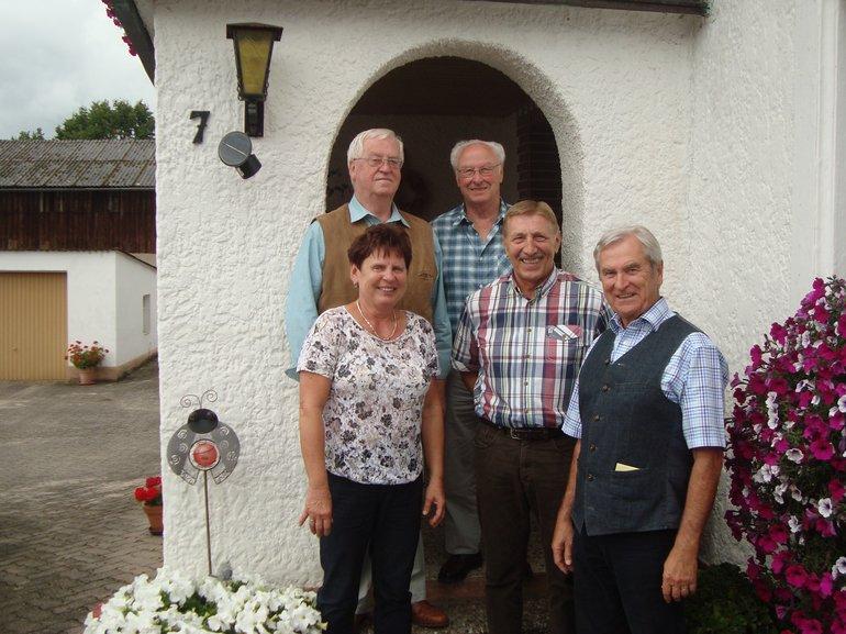 ver.di Seniorinnen und Senioren gratulieren aktivem Ausschussmitglied Hans Erfurt