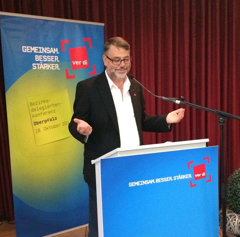 Rede des stellvertretenden Landesbezirksleiters ver.di Bayern