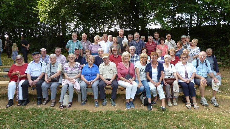 ver.di Senioren steuern fränkische Schweiz an