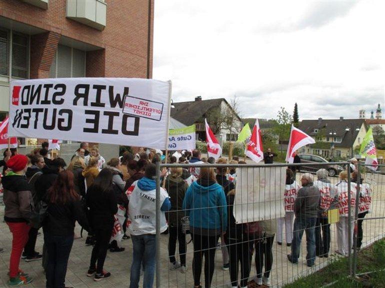 Aktion Krankenhaus Sulzbach-Rosenberg am 26.04.2016