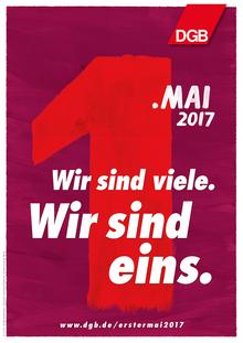 Plakatmotiv 01 zum Tag der Arbeit 2017