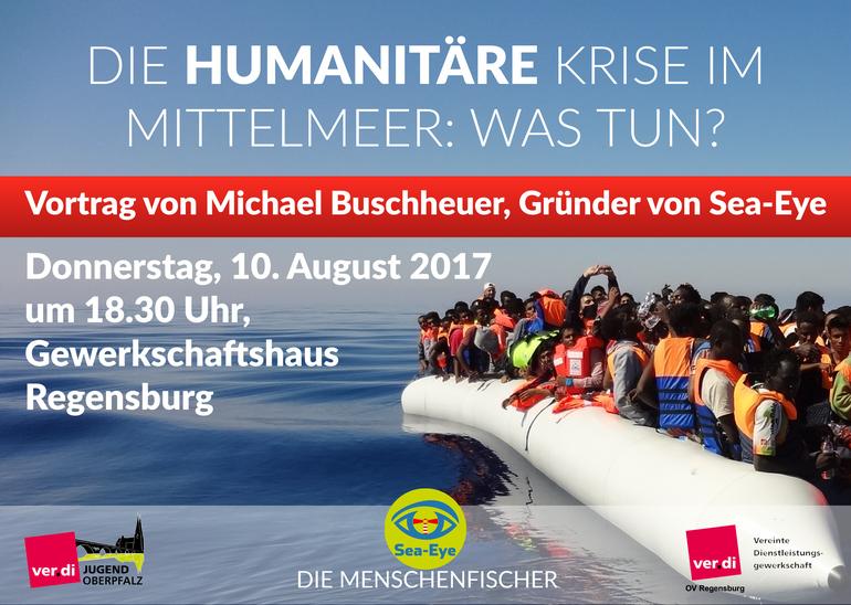 Vortrag: Die humanitäre Krise im Mittelmeer - Was tun?