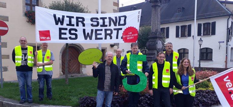 Streik auf den Schießbahnen in Grafenwöhr
