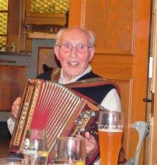ver.di gratuliert Alois Lippert zum 90.