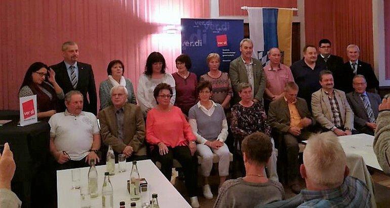 Jubilarehrung 2017 des Ortsverein Weiden West