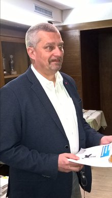 DGB-Regionssekretär Peter Hofmann