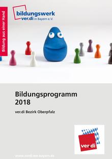 Bildungsprogramm 2018 des ver.di Bezirk Oberpfalz