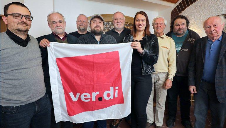 Mitgliederversammlung des verdi-Fachbereichs Medien, Kunst und Industrie des Ortsverein Amberg-Sulzbach