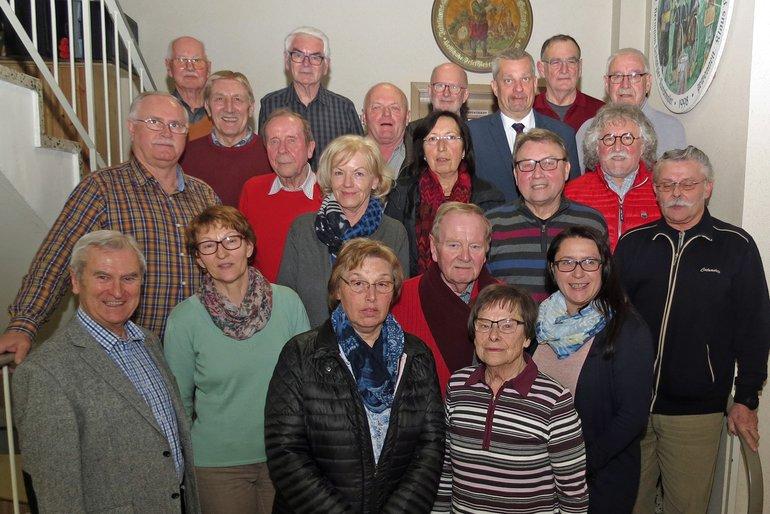 Der neu-gewählte Vorstand der eniorinnen und Senioren Nord