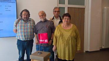Neuer Erwerbslosenausschuss im ver.di Bezirk Oberpfalz gewählt