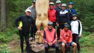 Senioren auf Radtour in Konnersreuth