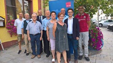 Ortsverein Region Nabburg: Jubilarehrung 2018