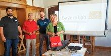 BayernLab stellt bei ver.di Senioren Aufgaben vor.