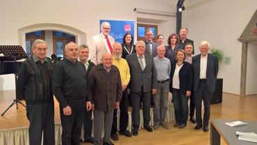 Jubilarehrung 2017 des Ortsverein Cham am 28.10.2017