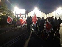 Streiks in Druckereien ausgeweitet