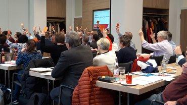 ver.di-Vertreter von Bund und Länder tagen in Regensburg