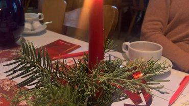 Weihnachtsfeier 2018 der Regensburger ver.di-Seniorinnen und Senioren