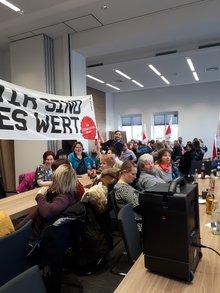 Warnstreiks beim Uniklinikum Regensburg am 27.02.2019