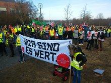 Tarifrunde ÖD der Länder 2019: Kundgebung am 26.02.2019 in Regensburg
