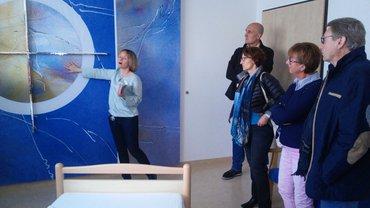 Infoveranstaltung im Hospiz St. Felix in Neustadt/WN