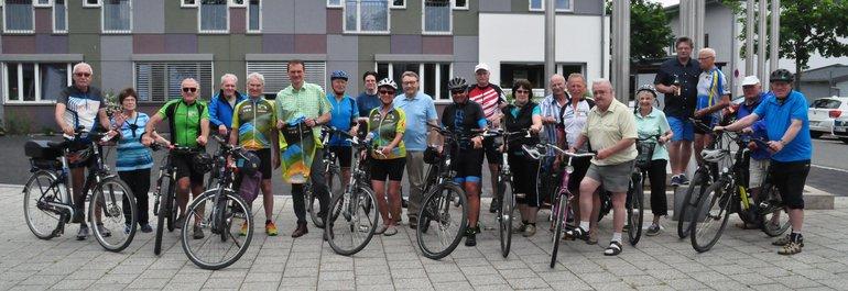 Jährliche Radtour der ver.di Senioren der Region