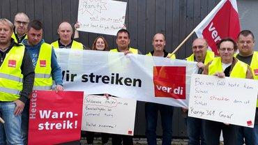 Erste Streiks auf den Truppenübungsplätzen in der Oberpfalz
