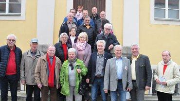 ver.di Senioren in der Synagoge in Floß