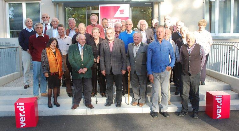 Jubilarehrung 2019 des Ortsverein Regensburg