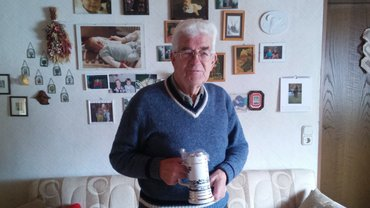 Anton Seiler ist 70 Jahre Gewerkschaftsmitglied