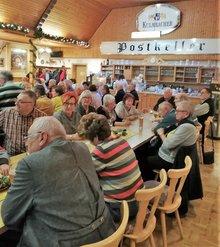 Gute Stimmung bei der Bilanztagung 2019 der ver.di Senior*innen Oberpfalz