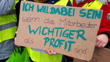 24-Stunden-Streik bei Asklepios in Lindenlohe am 27.11.2019