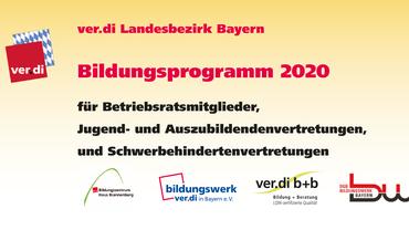 Bildungsprogramm 2019 für Betriebsratsgremien, Schwerbehindertenvertretungen, Jugend- und Auszubildendenvertretungen