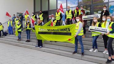 medbo Regensburg beteiligt sich an bundesweiten Aktionen im Rahmen der Tarifrunde öffentlicher Dienst