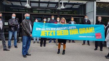 Beschäftigte der bayerischen Studentenwerke solidarisch mit den Beschäftigten im Tarifbereich öffentlicher Dienst