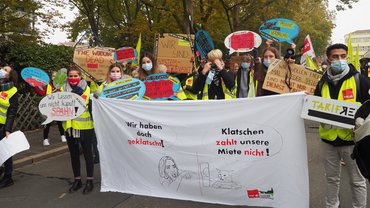 Oberpfälzer Nachwuchskräfte aus dem öffentlichen Dienst im Streik am 13. Oktober!