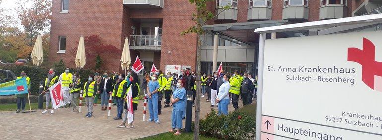 Kundgebung der Krankenhäuser des Landkreises Amberg-Sulzbach