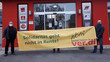 Solidarität geht nicht in Rente!