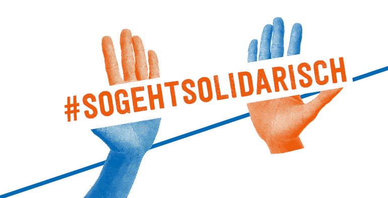 Freiheit geht nur solidarisch.