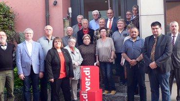 ver.di Ortsverein West ehrt in Schlammersdorf langjährige Mitglieder
