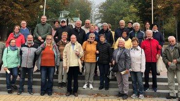 ver.di Senior*innen Oberpfalz in der Partnerstadt Marienbad